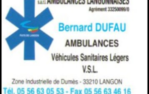 Ambulances Langonnaises